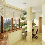 Застеклить балкон в классическом стиле