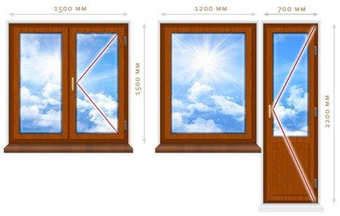 Okna veka cennik 2015