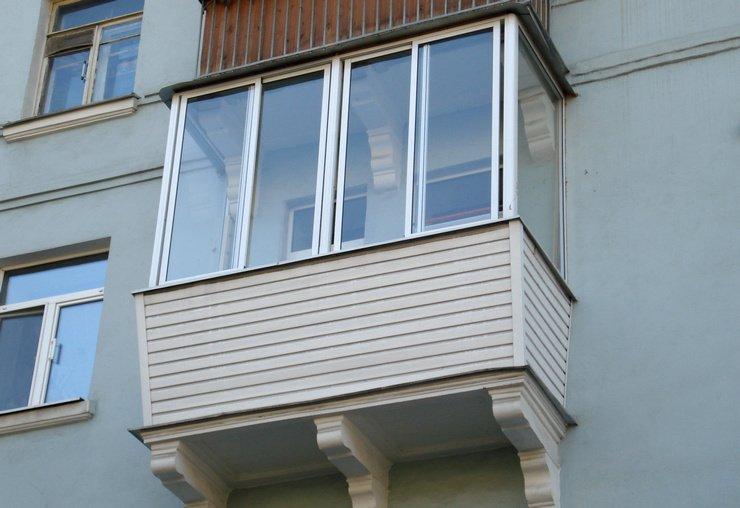Остекление с выносом балкона отделка балкона внутри ремонт