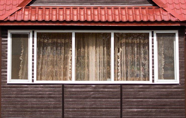 Наружная отделка и внешняя облицовка (обшивка) балкона ил....
